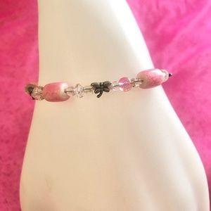 🆕 Handcrafted 🆕 Pink Bracelet